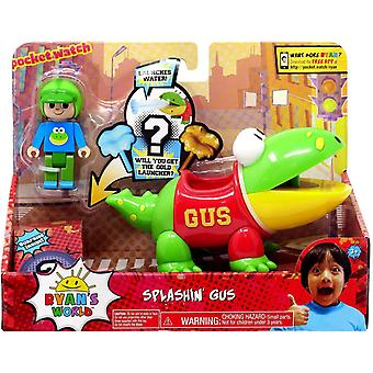 Ryan's World Splashin' Gus Figure Set