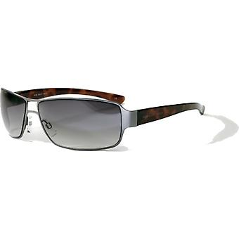 Bloc Eyewear Antique Gun / Tortoise Sunglasses (BG12 Brown Cat 3 Lens)