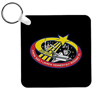 NASA STS 123 Space Shuttle Endeavour Mission Patch Keyring