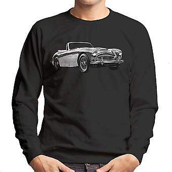 Austin Healey Grey British Motor Heritage Men's Sweatshirt