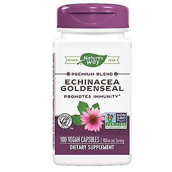 Nature's Way Echinacea Goldenseal, COMBO ORGANIQUE, 100 CAP