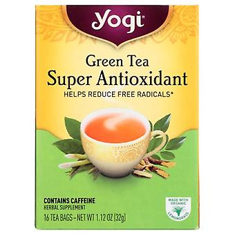 Yogi Green Tea Super Anti-Oxidant, 16 bags