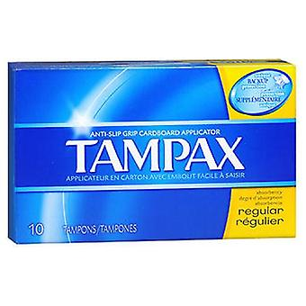 Tampax Tampons With Flushable Applicators Regular, 10 each
