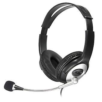 OVLENG Q2 USB Stereo -kuuloke mikrofonilla Super Bass