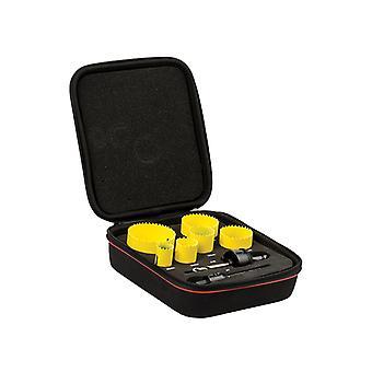 Starrett KFC06023 Bi-Metal Fast Cut General Purpose Holesaw Kit STRKFC06023
