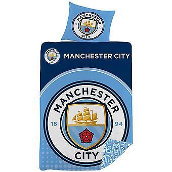Ensemble de couverture de couette de Manchester City FC