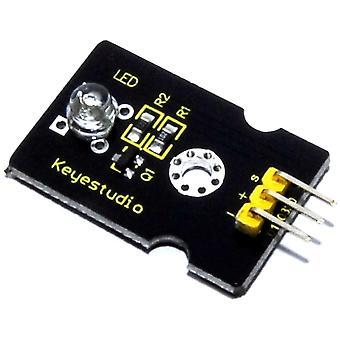 Keyestudio 5mm Blue Straw Hat LED Module
