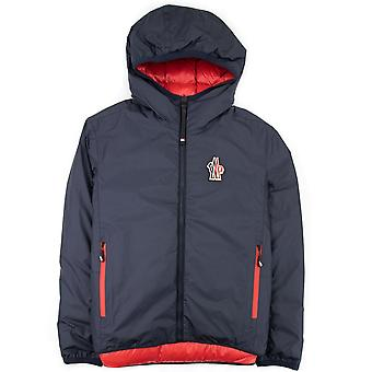 Moncler Chambave Reversible Shell-down Jacket Navy/Red