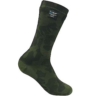 Dexshell Adults Waterproof Breathable Thermal Mid Calf Outdoor Socks - Camo