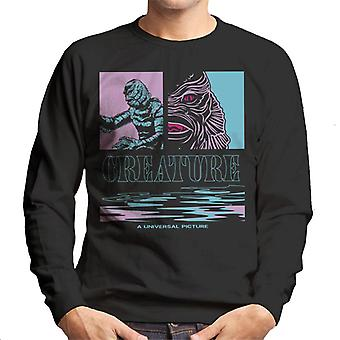 The Creature From The Black Lagoon Illustration Men's Sweatshirt