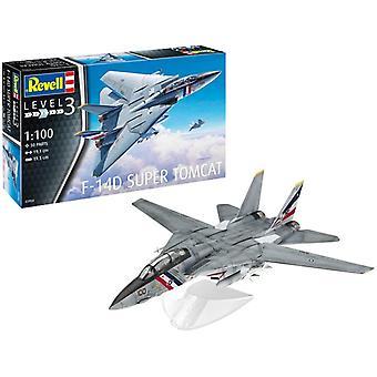 Revell 03950 F-14D Super Tomcat 1: 100 Schaalmodel Kit