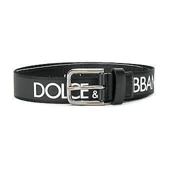 Dolce & Gabbana Kids Leather Belt