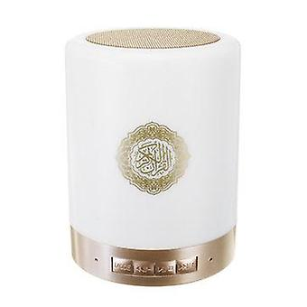 Portable Quran Wireless bluetooth Speaker LED Touch Lamp TF Card FM