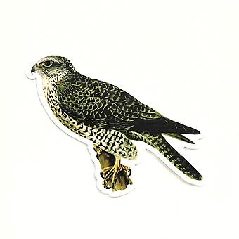 Vintage Falcon Vinyl Sticker