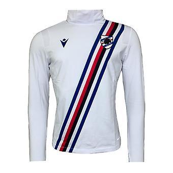 2020-2021 Sampdoria Pre-Match Training Top (White)