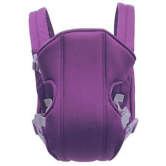 Känguru ryggsäck, ergonomisk bärsel wrap andas sling