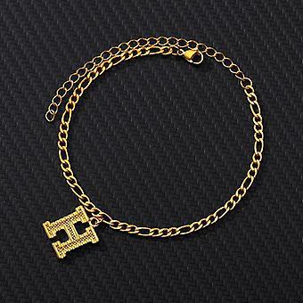 A-z Initial Letter Women Stainless Steel, Alphabet Anklets Bracelet