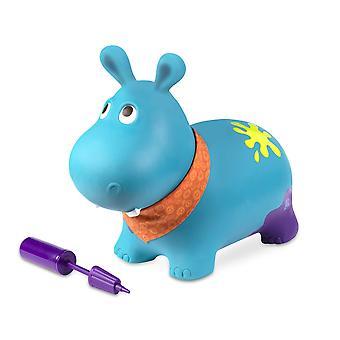 B zabawki Äì hanky hippo nadmuchiwane ride-on bouncer 'Äì bouncy boing 'Äì bpa wolna miękka zabawka do jazdy