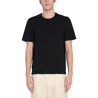 Bottega Veneta 649055vf1u01000 Men's Zwart Katoen T-shirt