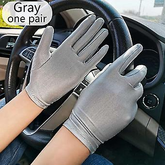 New Elegant Style Sun Protection Lace Hollow-out Gloves Accessories
