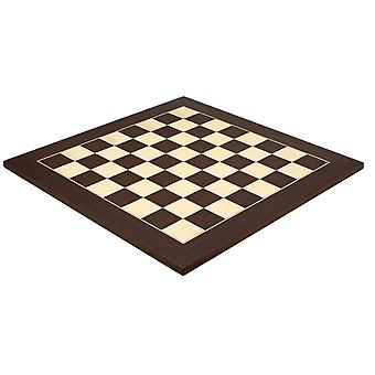 19,7 pouces Wenge et Maple Deluxe Chess Board