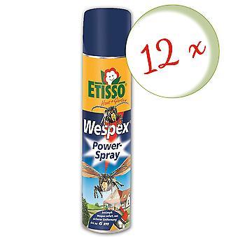 Sparset: 12 x FRUNOL DELICIA® Etisso® Wespex Power Spray, 600 ml