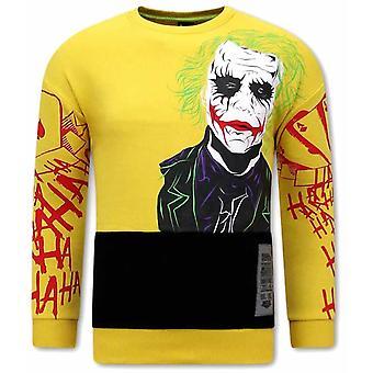 JOKER  Sweater - Geel
