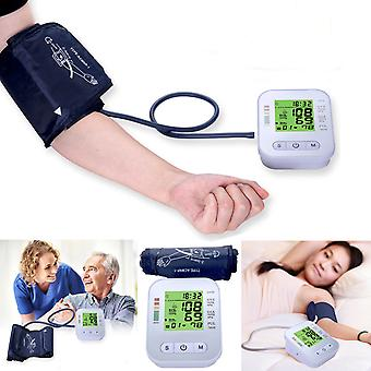 Digital Automatic Upper Arm Blood Pressure Monitor Meter Intellisense