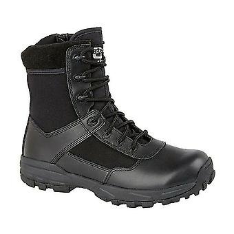 Grafters Mens Leather Combat Boots