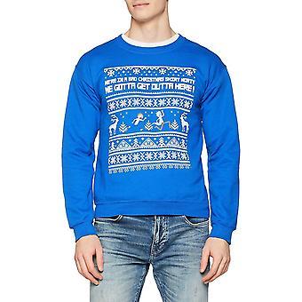 Rick et Morty unisexe adultes Bad Christmas Design Crewneck Sweatshirt