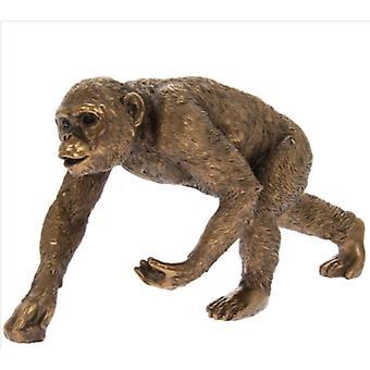 Bronze Chimpanzee By Lesser & Pavey