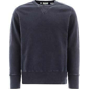 Levi's 219310006 Männer's blau Baumwolle Sweatshirt