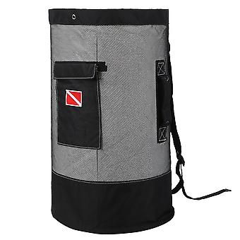 80l Large Capacity Diving Bag, Mesh Cloth Deep Sea Picking Bags