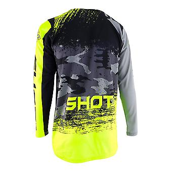 Shot Contact Counter Grey Adultes MX Jersey