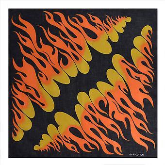 Large Flames Bandana