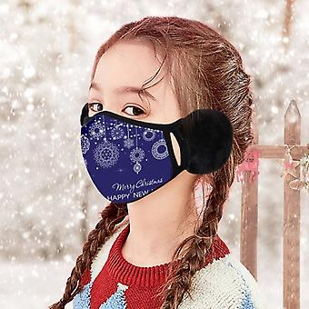 Kids Winter Warm Plush Headphones With Ears Face Ear Cover, Winter Accessories