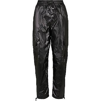 Urban Classics Women's Cargo Pants Shiny Cargo Track Pants