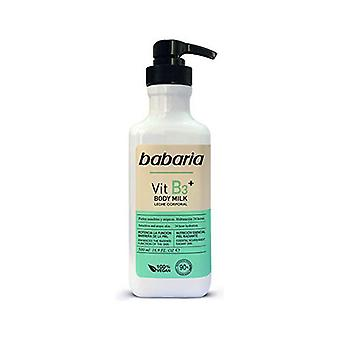 Body Milk Babaria Vitamin B3 Vegan (500 ml)