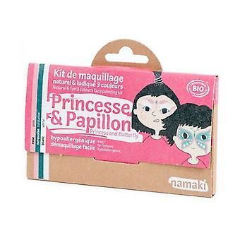Children's Makeup Kit - Princess and Butterfly Bio 1 unit