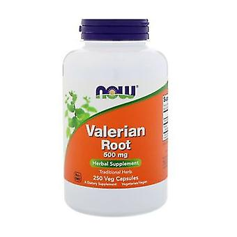 Valerian root 250 vegetable capsules