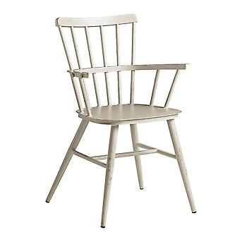 Spindle Arm Chair - White