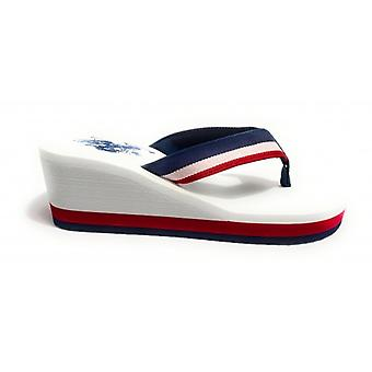 Slippers Us Polo Zeppa Mod. Hera Club Multicolor Tc 60 Pl 20 Ds20up23