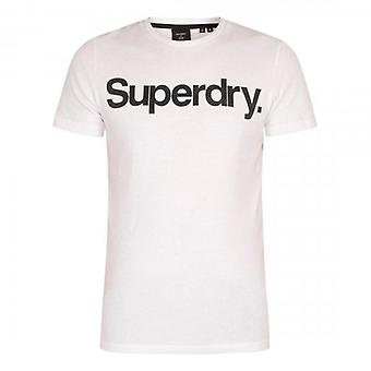 Superdry CL NS Logo T-paita Valkoinen 01C