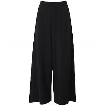 Crea Concept Cropped Wide Leg Trousers