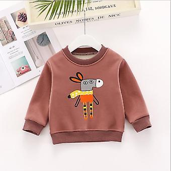 Autumn/ Winter- Sweatshirt Fleece Hoodies, Warm Pullovers, Cartoon Rabbit