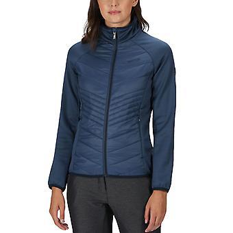 Regatta Womens Clumber Hybrid Lightweight Insulated Walking Jacket - Denim