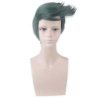 Jojo's Wonderful Adventure Anime Wigs Jojo Rohan Kishibe Hair Wigs