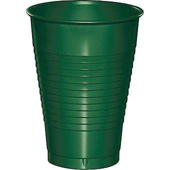 12Cup Pl 12/20Ct Hunter Green