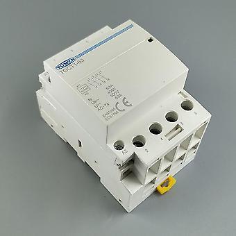 Din Rail Household Ac Modular Contactor  4no Or 2no 2nc Contactors