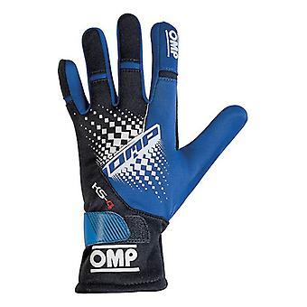 Men's Rijhandschoenen OMP MY2018 Blauw Zwart
